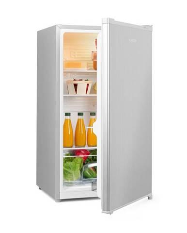 Klarstein Hudson, chladnička, A++, 88 litrov, priečinok na zeleninu, kompresia, strieborná