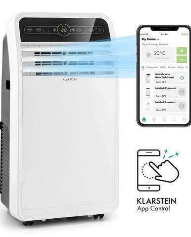 Klarstein Metrobreeze New York Smart 12k, mobilná klimatizácia, 12000 BTU/3,5 kW, energetická trieda A, diaľkový ovládač