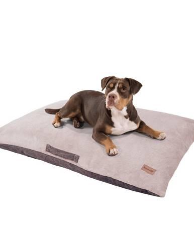 Brunolie Henry, pelech pre psa, psia podložka, umývateľný, ortopedický, protišmykový, priedušný, pamäťová pena, veľkosť XL (120 x 10 x 80 cm)