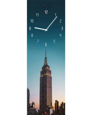 Sklenené hodiny 20X60 MANHATTAN