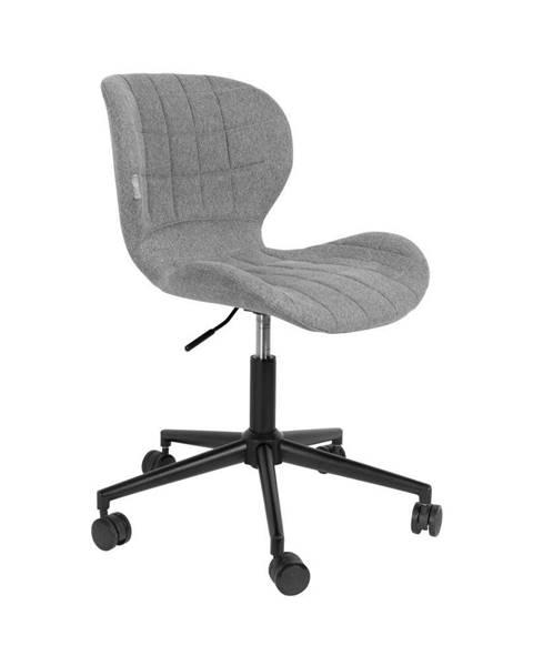Zuiver Sivá kancelárska stolička Zuiver OMG