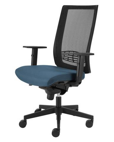 Kancelárska stolička CAMERON modrosivá