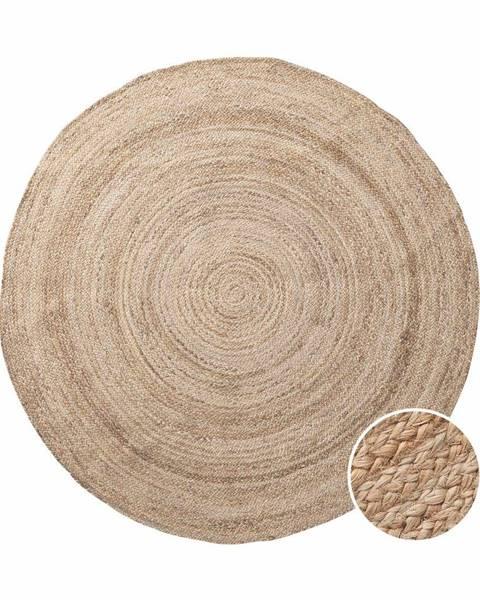 ALL NATURE ALL NATURE Konopný koberec 150 cm - prírodná