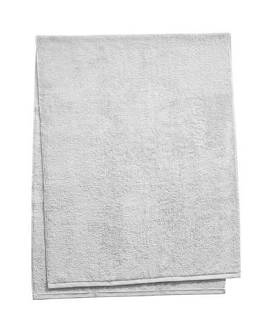 FABULOUS Osuška do sauny 80 x 200 cm - sv. šedá