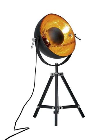 SATELLIGHT Stolová lampa 40 cm - čierna/zlatá