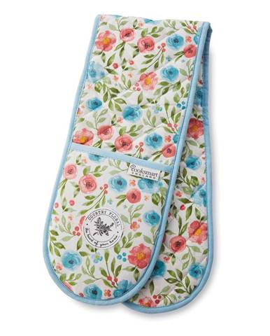 Bavlnená dvojitá chňapka Cooksmart ® Country Floral