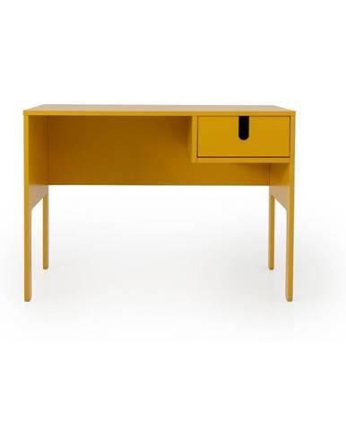 Žltý pracovný stôl Tenzo Uno