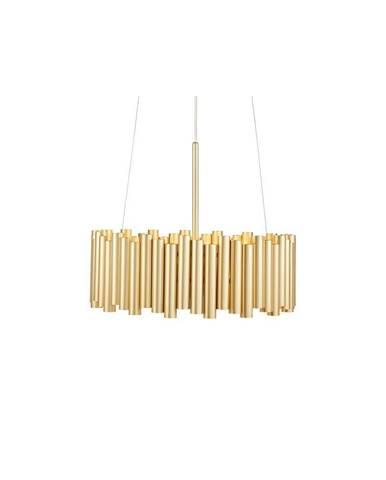 Závesné svietidlo v zlatej farbe Markslöjd Level 3L