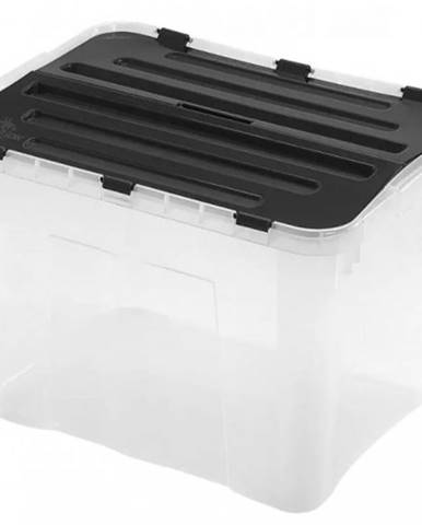 Úložný box s vekom Heidrun HDR1652, 42l, plast