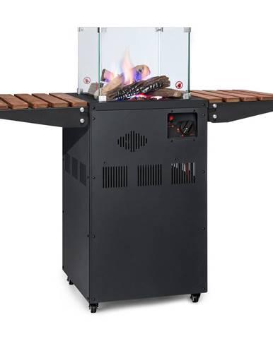 Blumfeldt Flagranti Plus, plynový ohrievač, 8 kW, bočné stolíky, nehrdzavejúca oceľ