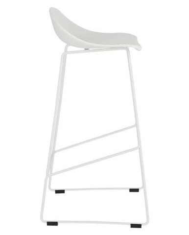 ArtD Barová stolička Molly High biela