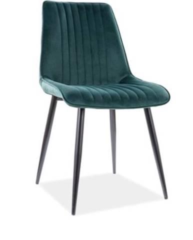 Signal Jedálenská stolička KIM Velvet