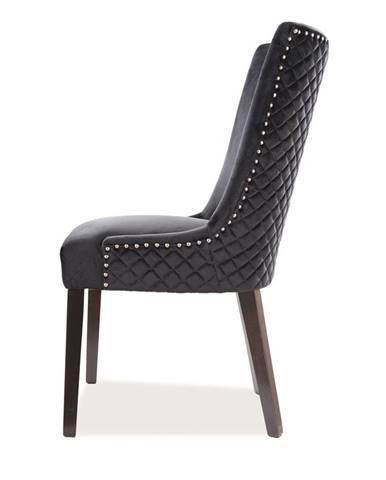 Signal Jedálenská stolička LEON VELVET