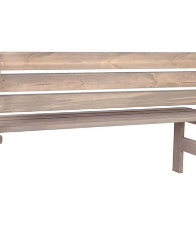 ArtRoja VIKING lavice ŠEDÁ - 150 cm