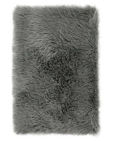 AmeliaHome Kožušina Dokka tmavosivá, 50 x 150 cm