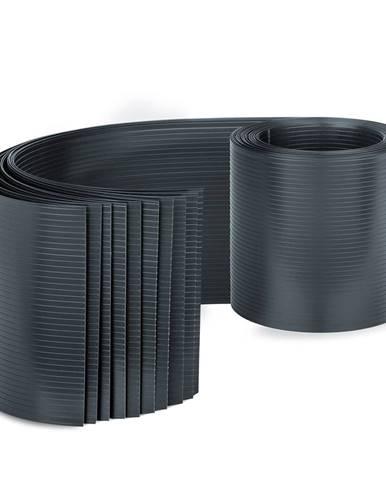 Blumfeldt Tieniace pásy, tienenie plot, PVC tvrdý plast, 2,53 × 0,19 m