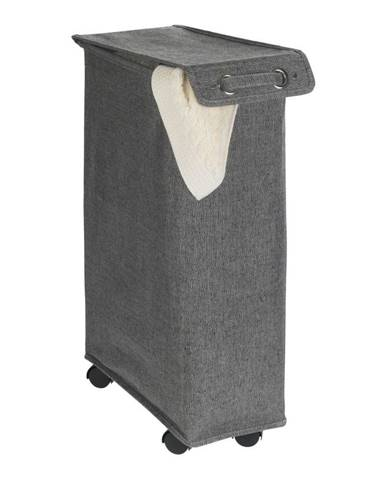 Tmavosivý kôš na bielizeň Wenko Corno, 44,4 l