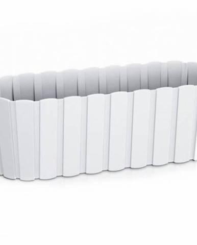 Truhlík plastový, 587x144x130 mm, 7,9l, BOARDEE CASE, biely 60