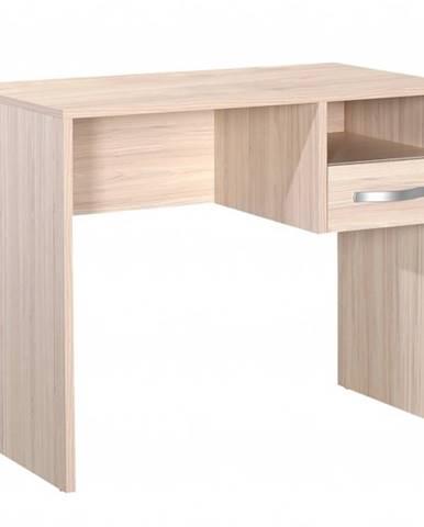 Písací stôl LIAM svetlý dub