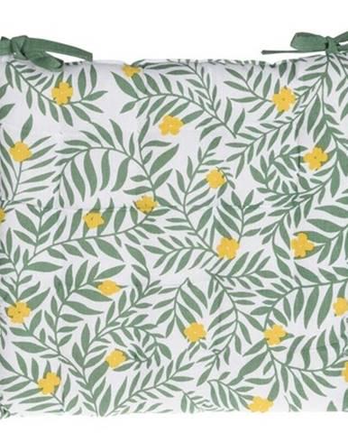 Sedák na stoličku Deny zelená, 40 x 40 cm