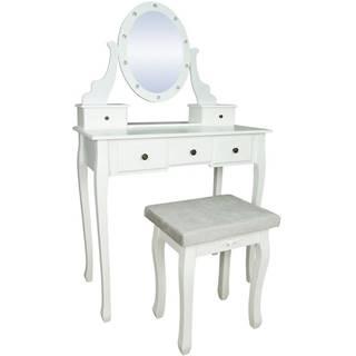 Toaletný stolík Pandora biely