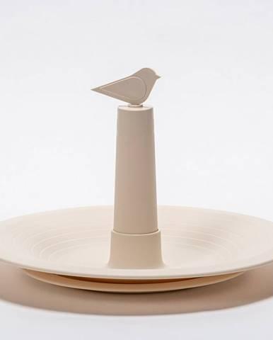 Plastia Pítko pro vtáky Finch, slonová kosť
