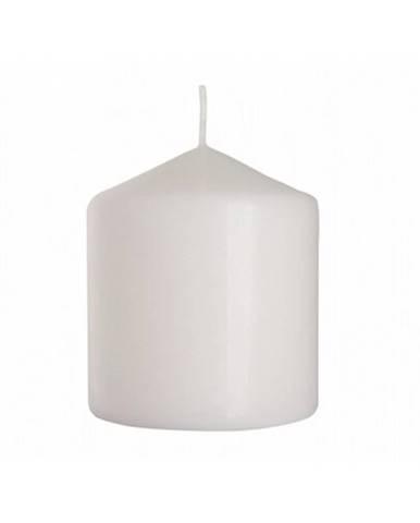 Dekoratívna sviečka Cassic Maxi biela, 9 cm, 9 cm