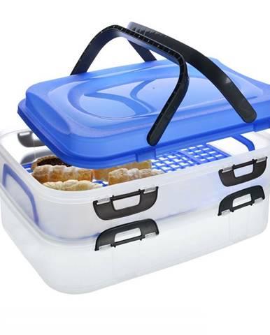 Prenosný box na potraviny, 2 poschodia