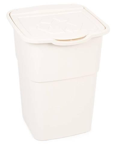 Kôš na triedený odpad Eco Master 50 l, biela