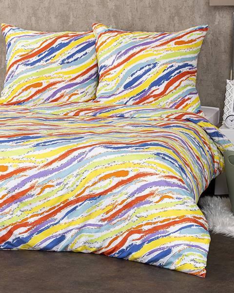 4Home 4Home Obliečky Rainbow micro, 140 x 220 cm, 70 x 90 cm