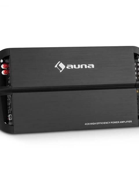 Auna Auna AMP490BK, 360 W, 4-kanálový auto zosilňovač, trieda A/B, zosilňovač, diaľkové ovládanie