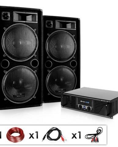"Electronic-Star Kompletná DJ PA sada ""Phuket Pulsar"", zosilňovač, 2 x reproduktor"