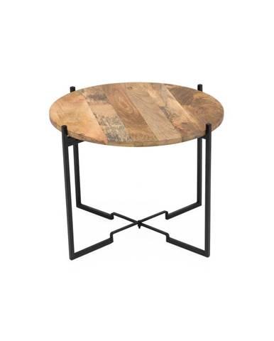 Konferenčný stolík so železnou konštrukciou WOOX LIVING Fera, ⌀ 53 cm