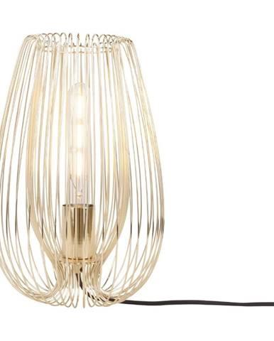 Stolová lampa v zlatej farbe Leitmotiv Lucid Large