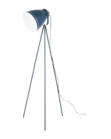 Tmavomodrá stojacia lampa Laitmotiv Mingle