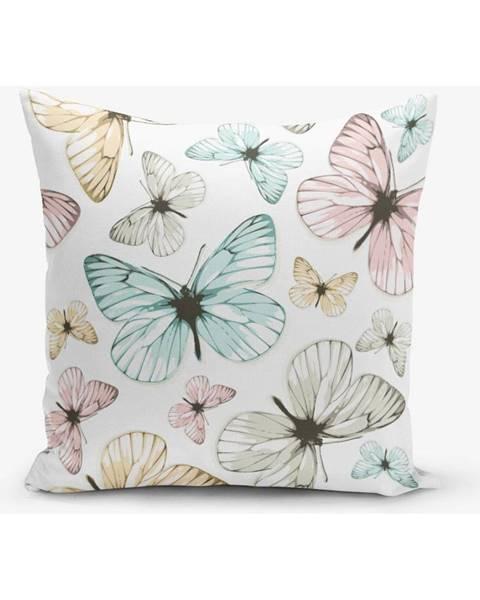 Minimalist Cushion Covers Obliečka na vankúš s prímesou bavlny Minimalist Cushion Covers Butterfly, 45×45 cm