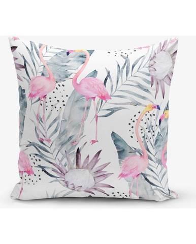 Obliečka na vankúš s prímesou bavlny Minimalist Cushion Covers Pastel, 45×45 cm