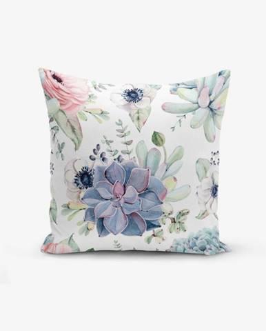 Obliečka na vankúš s prímesou bavlny Minimalist Cushion Covers Yagli, 45×45 cm
