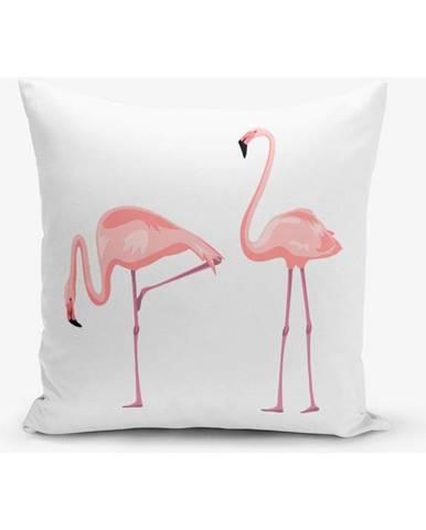 Obliečka na vankúš s prímesou bavlny Minimalist Cushion Covers Zoo, 45×45 cm