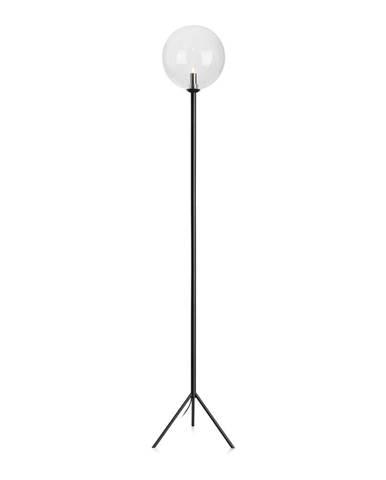 Čierna stojacia lampa Markslöjd Andrew Floor Black