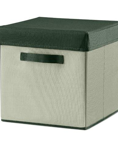 Zelený úložný box Flexa Room