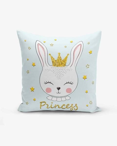 Minimalist Cushion Covers Obliečka na vankúš s prímesou bavlny Minimalist Cushion Covers Princess Rabbit, 45×45 cm