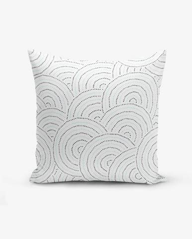 Obliečka na vankúš s prímesou bavlny Minimalist Cushion Covers Ring Modern Razza, 45×45 cm