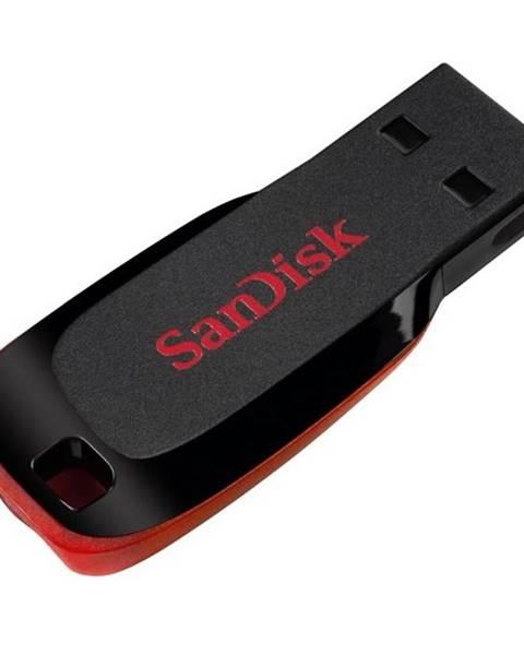 Sandisk USB flash disk Sandisk Cruzer Blade 16GB čierny