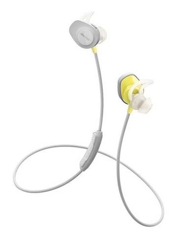 Slúchadlá Bose SoundSport Bluetooth sivá/žltá