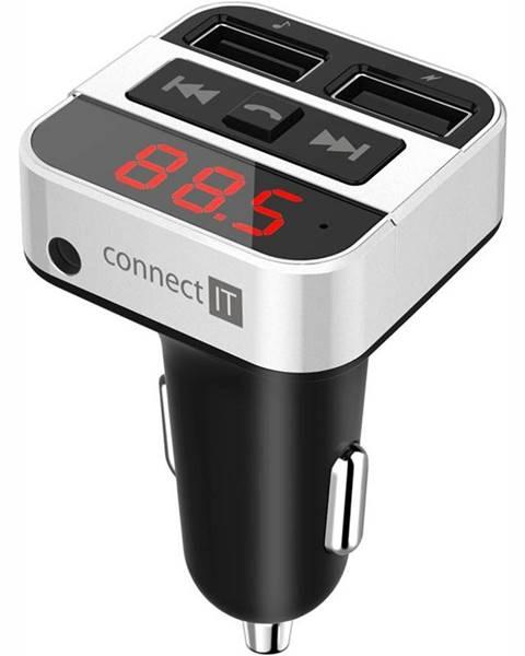 Connect IT FM Transmitter  Connect IT InCarz CCC-8800 strieborný