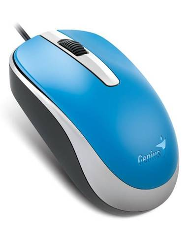 Myš  Genius DX-120 modrá / optická / 3 tlačítka / 1200dpi