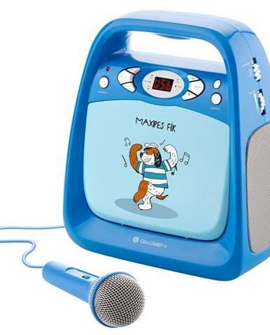 CD prehrávač Gogen Maxipes Fík Maxi Karaoke modr