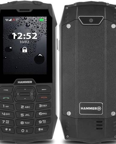 Mobilný telefón myPhone Hammer 4 Dual SIM strieborný