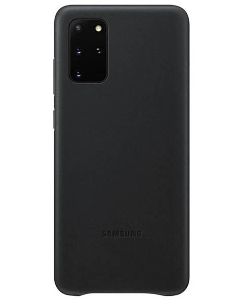 Samsung Kryt na mobil Samsung Leather Cover na Galaxy S20+ čierny